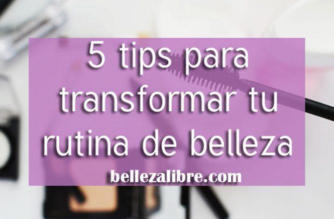 5 Tips para empezar la transición a productos de belleza libres de crueldad