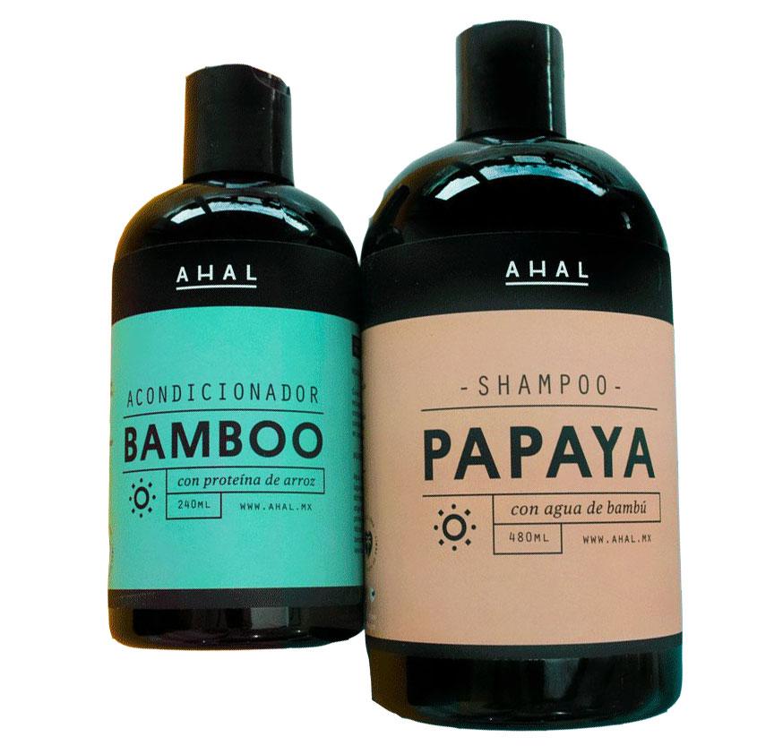 Shampoo y acondicionador ahal