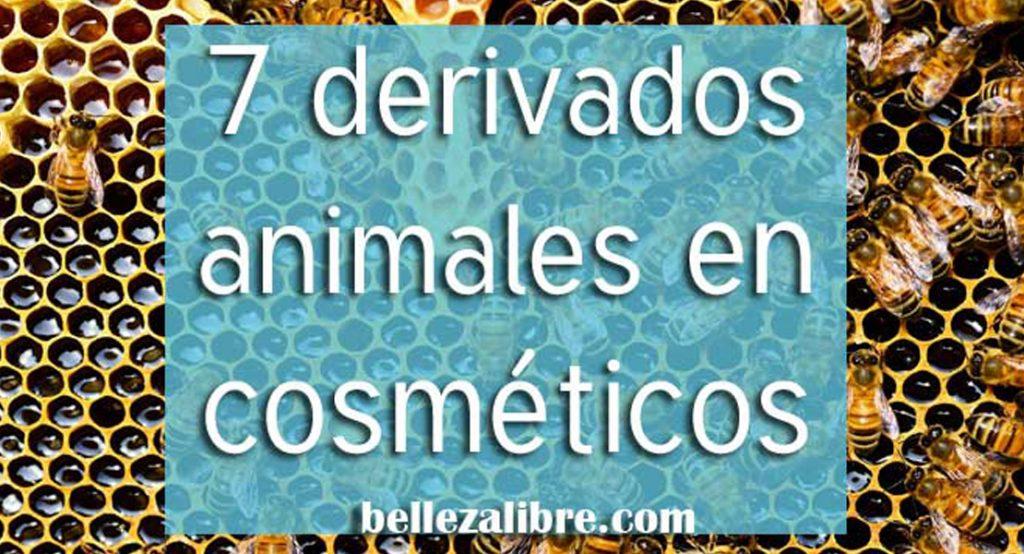Imagen destacada 7 derivados animales en cosmeticos