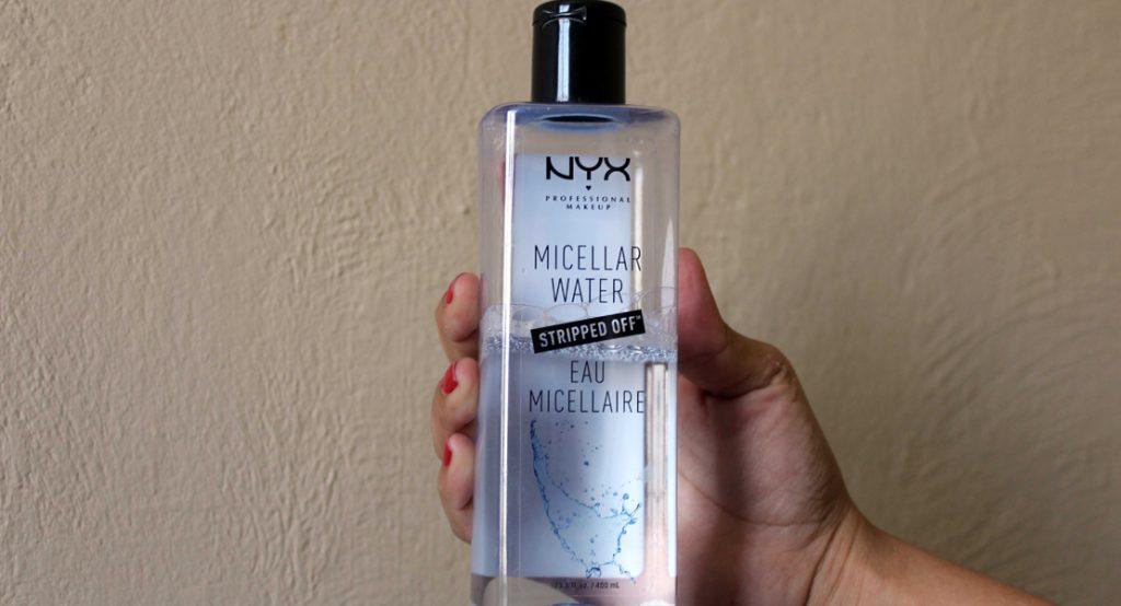 Destacada agua micelar NYX