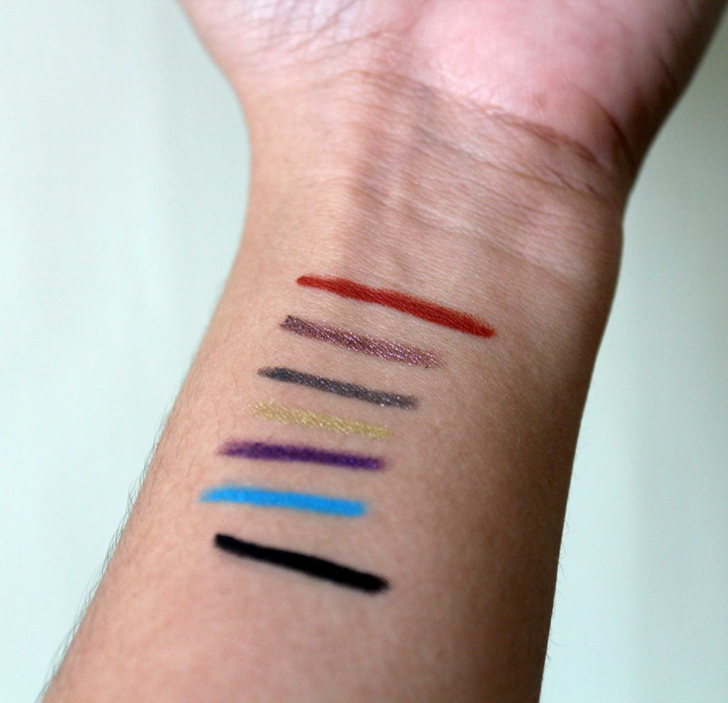 Swatches Urban Decay 24/7 Glide-On Eye Pencil