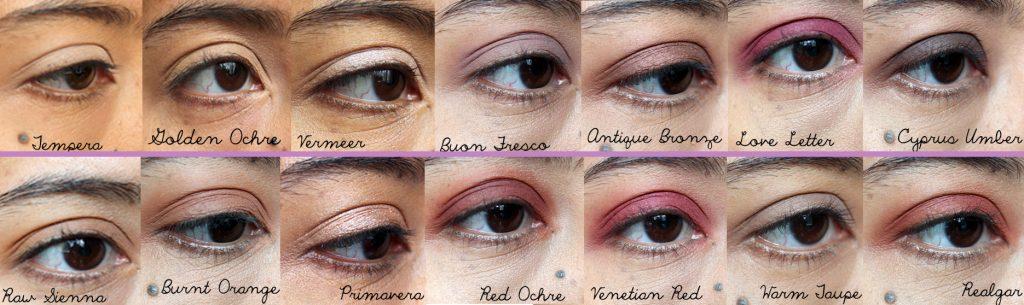 ABH Eye Swatches
