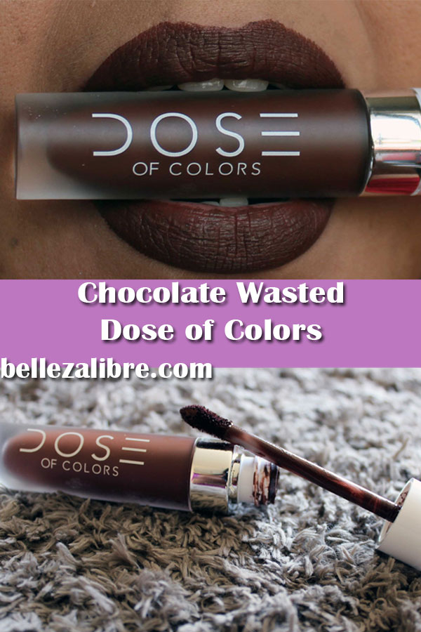 Pin Lip Swatch Chocolate Wasted 2