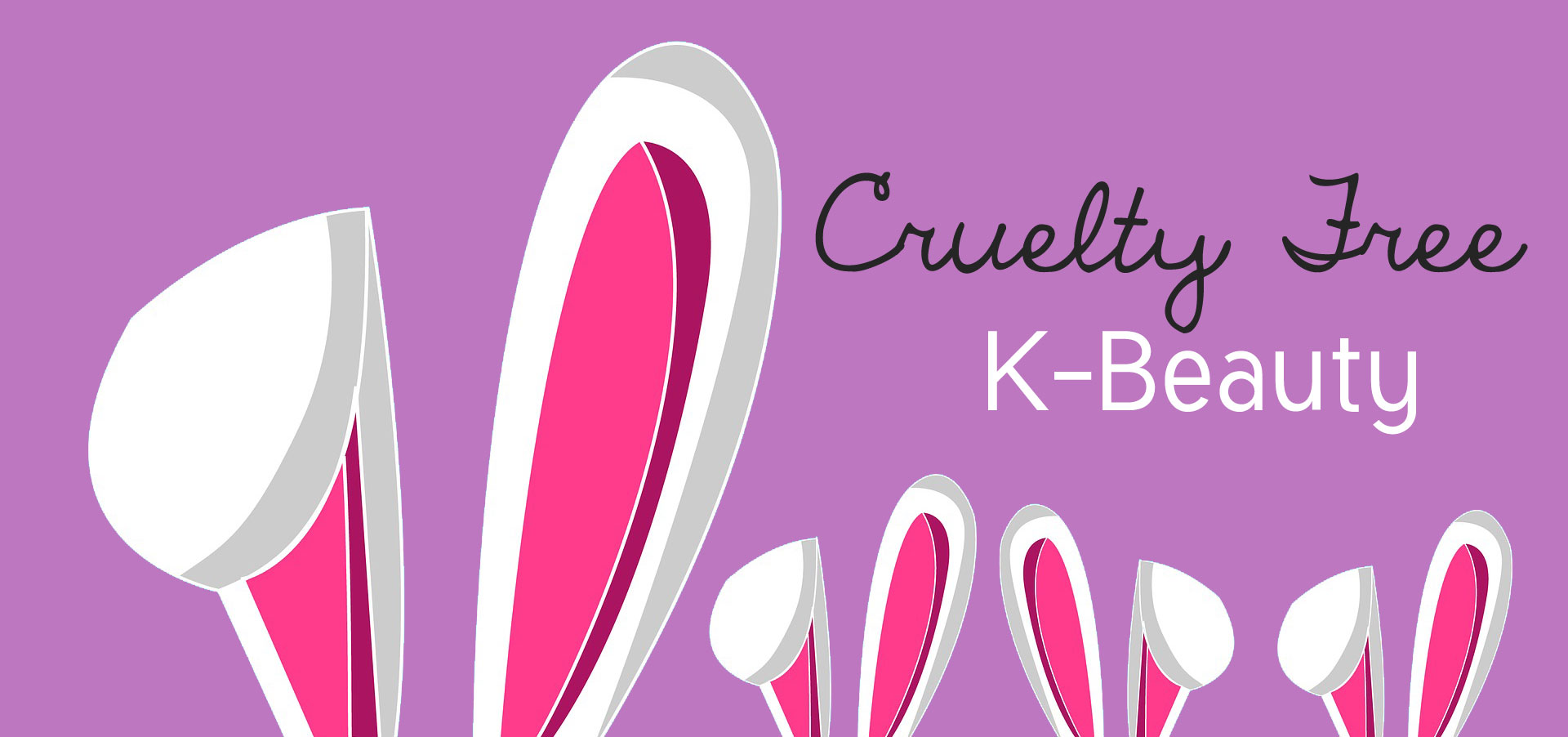 Banner Cruelty Free K-Beauty
