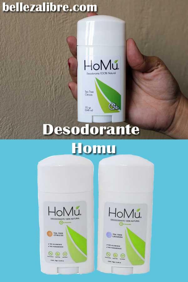 Pin HOMU desodorante