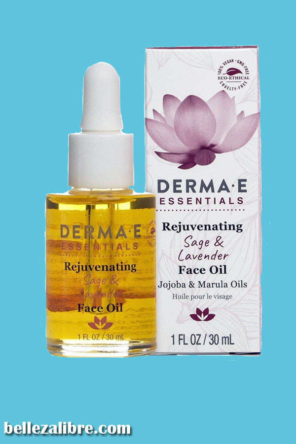 Pin Rejuvenating Sage & Lavender Face Oil de Derma E