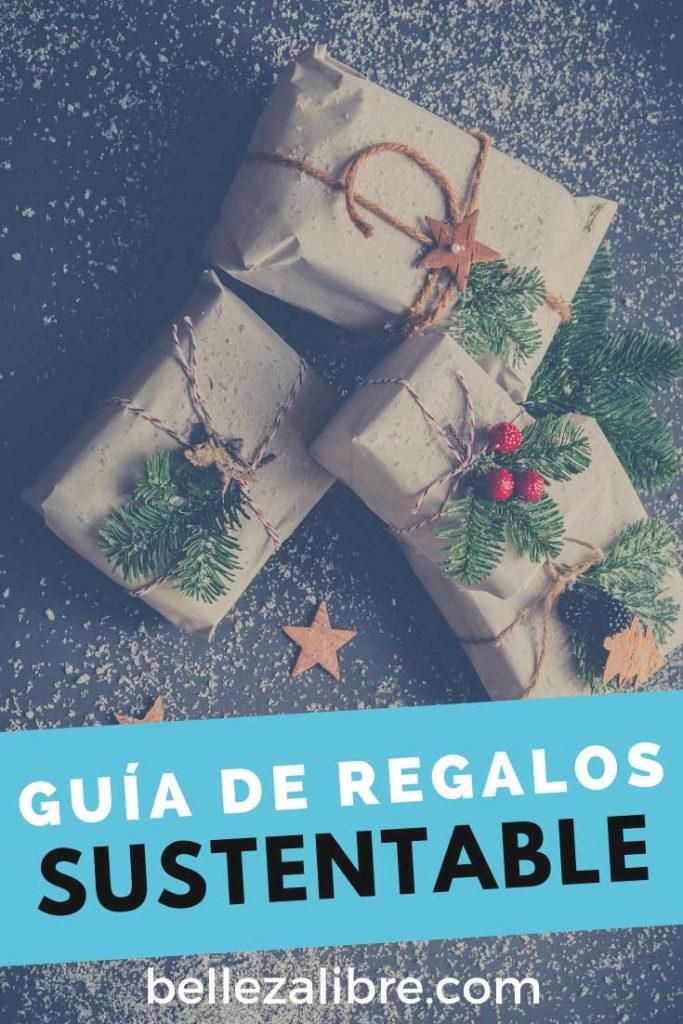 Pin guía de regalos sustentables en cajas