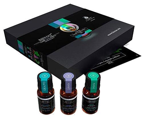 kit de aceites esenciales regalo sustentable