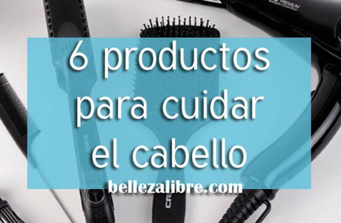 6 productos favoritos cuidado del cabello