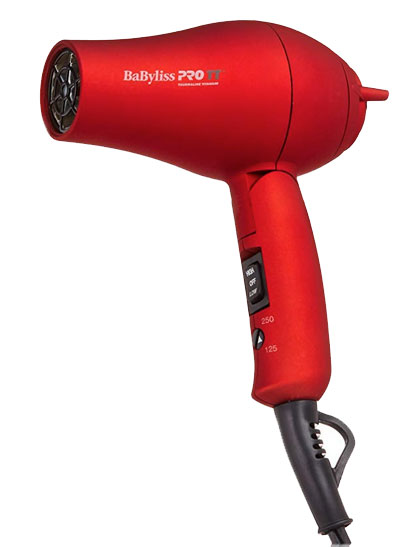 Secadora de Cabello para Viajes de Babyliss Pro para el cuidado del cabello