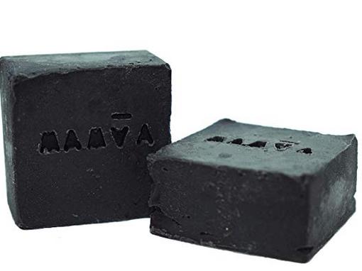 Jabón MAMVA con carbon activado