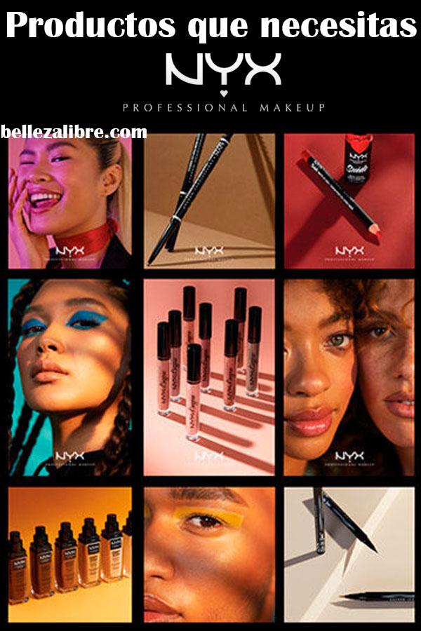 Los productos que debes probar de NYX Cosmetics