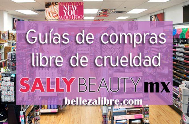 Guia de compras libre de crueldad Sally Beauty méxico
