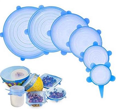 tapas de silicona para comida
