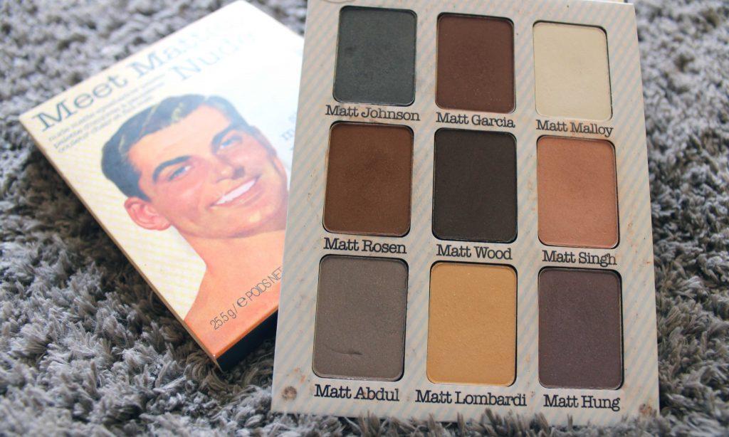 Meet Matte Nude, caja y paleta