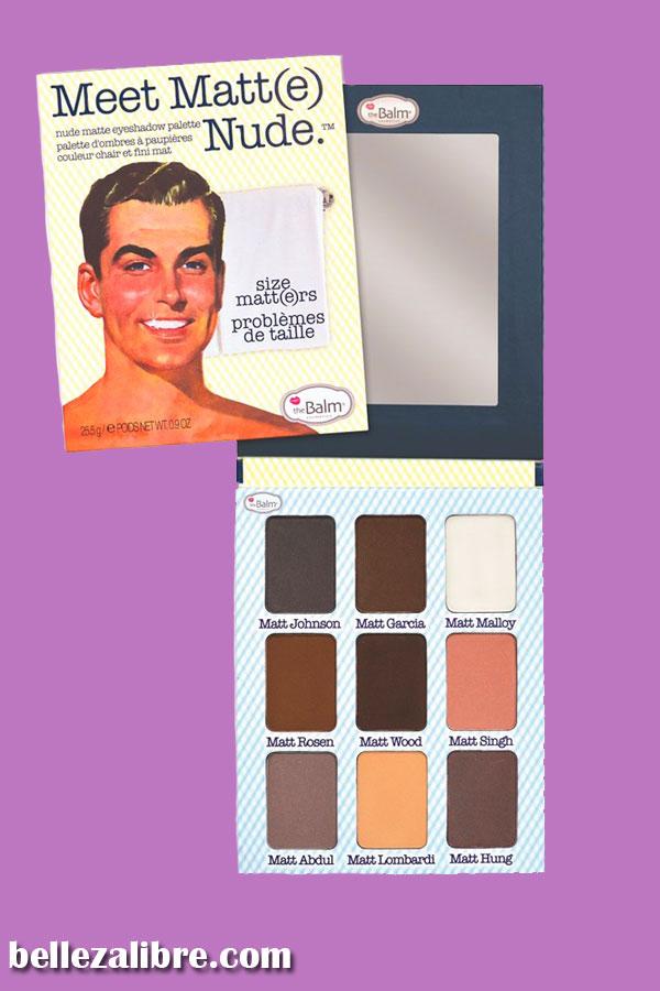 TheBalm Meet Matte Nude eyeshadows