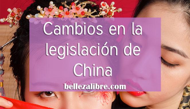 Cambios en la legislación de china
