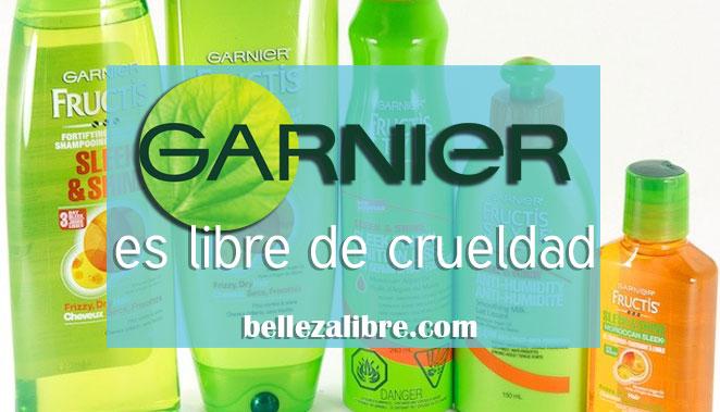 Garnier es libre de crueldad