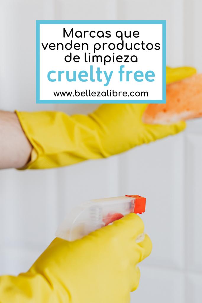 Marcas que venden productos de limpieza cruelty free
